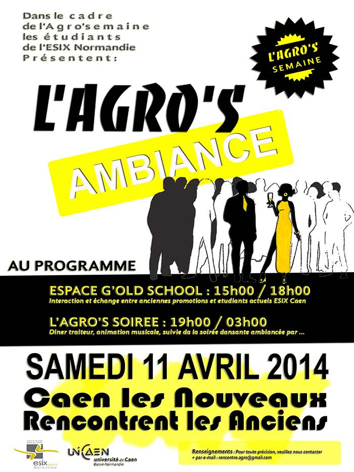 affiche Agro's ambiance